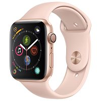 продажа Apple Watch Series 4 44mm Case Gold Aluminium Sport Band Pink Sand