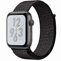 продажа Apple Watch Series 4 44mm Case Space Grey Aluminium Sport Loop Black