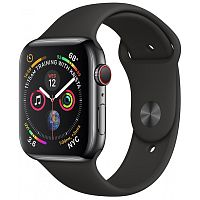 продажа Apple Watch Series 4 40mm Case Space Grey Aluminium Sport Band Black