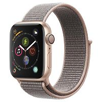 продажа Apple Watch Series 4 44mm Case Gold Aluminium Sport Loop Pink Sand