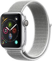 продажа Apple Watch Series 4 40mm Case Silver Aluminium Sport Loop Seashell