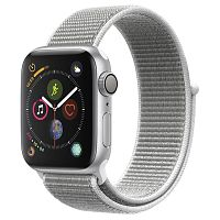 продажа Apple Watch Series 4 44mm Case Silver Aluminium Sport Loop Seashell